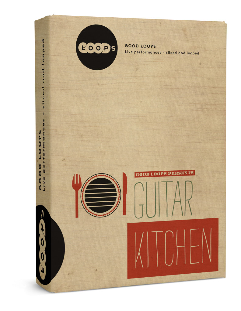Guitar Kitchen Vol. 1 - box
