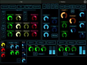 DIVA - main controls